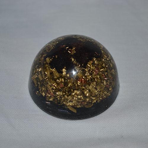 orgonitová pologuľa - granát